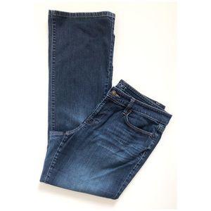 Ann Taylor Loft Curvy Bootcut Jeans Size 12